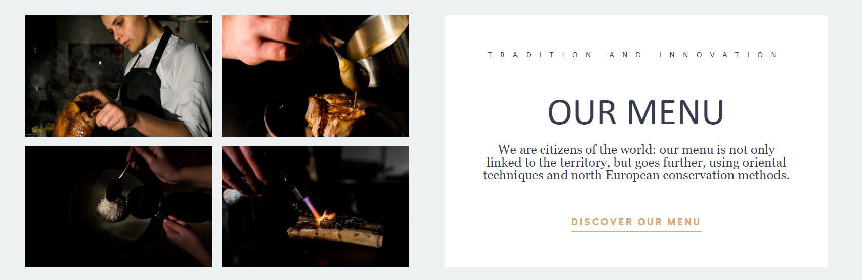 ristorante sintesi